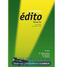 Edito B1 Nouvel Edition Livre + CD audio + DVD