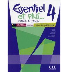 Essentiel et plus... 4 Livre du professeur + CD-ROM