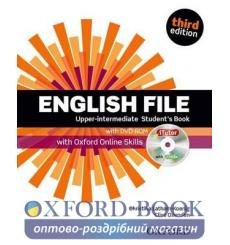 English File Third Edition Upper-Intermediate Student's Book with iTutor DVD-ROM and Oxford Online Skills