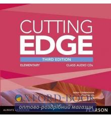 Cutting Edge 3rd ed Elementary Class CDs adv