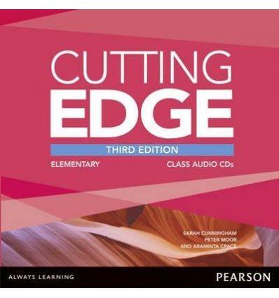 Cutting Edge 3rd ed Elementary Class CDs adv
