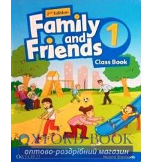 Учебник Family and Friends 2nd Edition 1 Class Book with Online Play