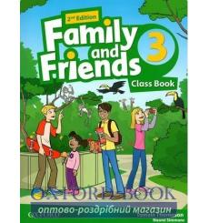 Family and Friends 2nd Edition 3: Class Book with MultiROM
