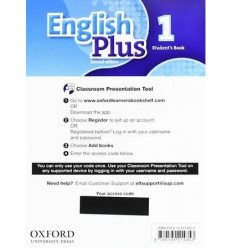 Ресурсы для интерактивной доски English Plus Second Edition 1 Student's Book Classroom Presentation Tool eBook Pack