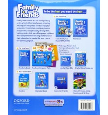 Family and Friends 2nd Edition 1 Class Book with Online Play