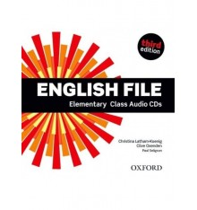 English File 3rd Edition Elementary: Class Audio CDs (5)