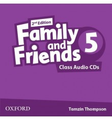 Family and Friends 2nd Edition 5: Class Audio CDs (3)