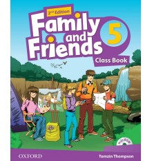 Family and Friends 2nd Edition 5: Class Book with MultiROM