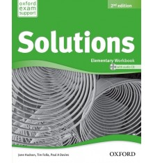 Solutions Elementary Second Edition: Workbook with CD-ROM (Ukrainian Edition)