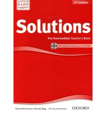 Solutions Pre-Intermediate Second Edition: Teacher's Book with CD-ROM