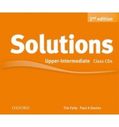 Solutions Upper-Intermediate Second Edition: Class Audio CDs (4)