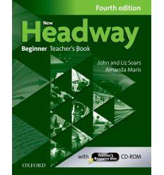 New Headway Beginner: Teacher's Book with Teacher's Resource CD-ROM