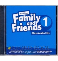 Family and Friends 2nd Edition 1: Class Audio CDs (2)