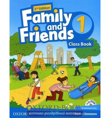 Family and Friends 2nd Edition 1: Class Book with MultiROM