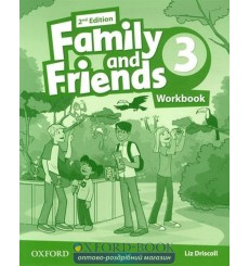 Family and Friends 2nd Edition 3: Workbook