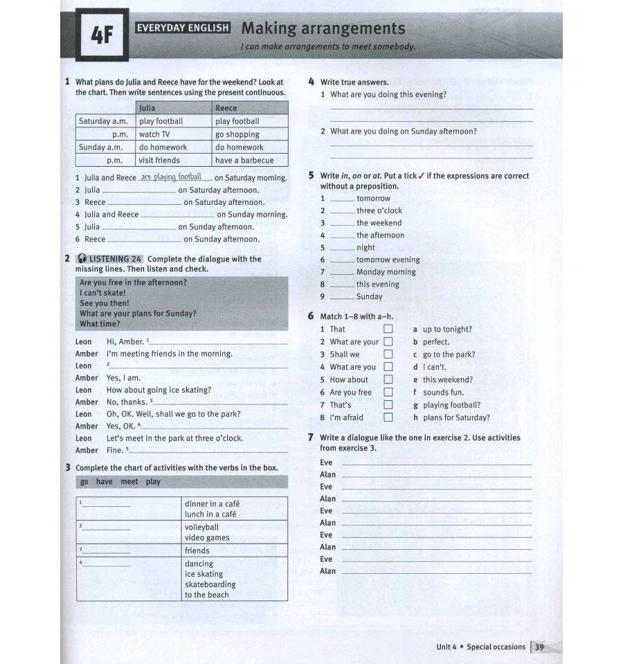 solutions elementary workbook 2nd edition ukraine ответы