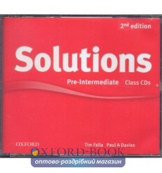 Solutions Pre-Intermediate: Class Audio CDs (3)