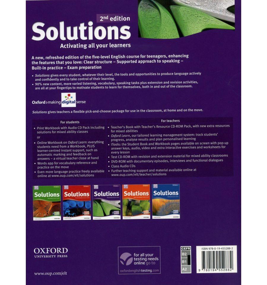 U043a U0443 U043f U0438 U0442 U044c Solutions Intermediate Student U0026 39 S Book Second