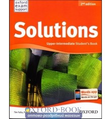 Solutions Upper-Intermediate Second Edition: Student's Book