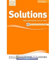 Solutions Upper-Intermediate Second Edition: Teacher's Book with CD-ROM