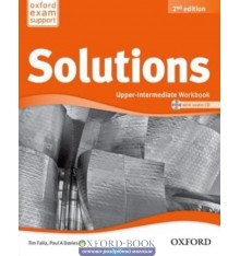 Solutions Upper-Intermediate Second Edition: Workbook with CD-ROM