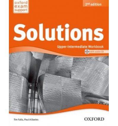Учебник / student's book solutions upper-intermediate, третье.