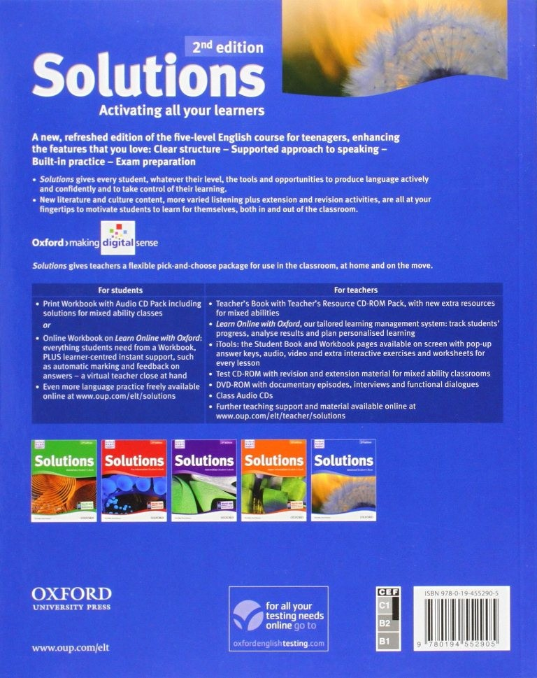 Solutions edition 2nd ukraine гдз book students