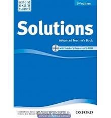 Solutions Advanced Second Edition: Teacher's Book with CD-ROM