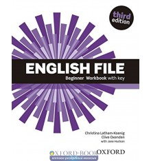 English File 3rd Edition Beginner Workbook with Key with iChecker CD-ROM