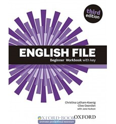 English File Beginner Workbook with Key with iChecker CD-ROM