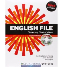 English File 3rd Edition Elementary: Student's Book with iTutor DVD