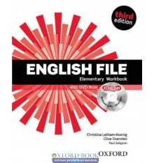 English File 3rd Edition Elementary: Workbook with Key with iChecker CD-ROM