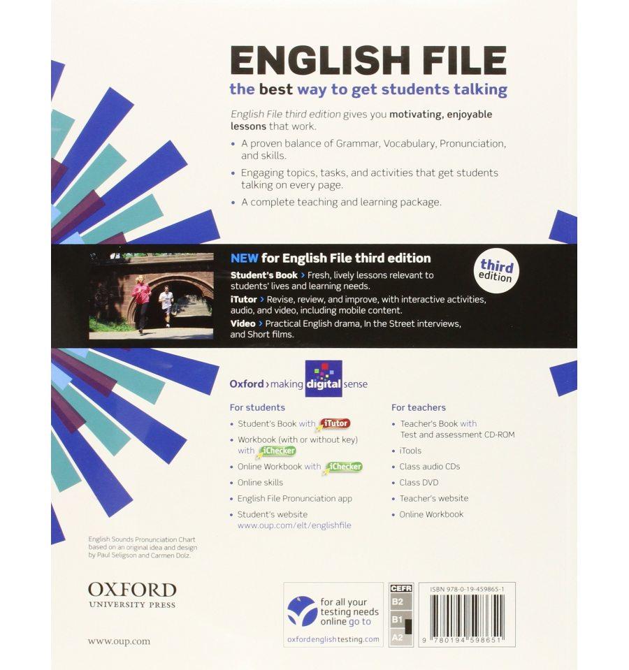 English File Pre-Intermediate Student's Book 3rd Edition ...