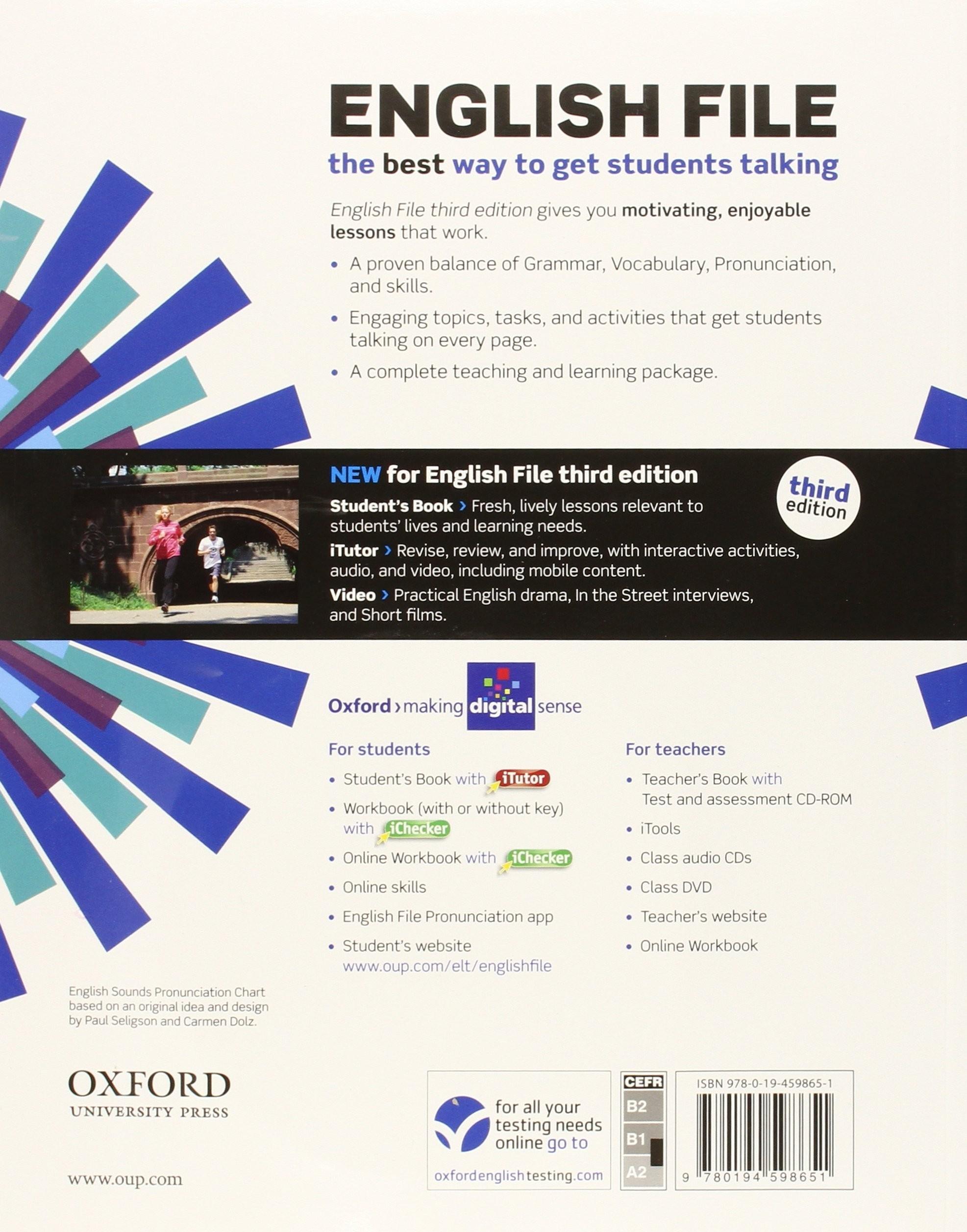 English File 3rd Edition Pre-Intermediate: Student\'s Book