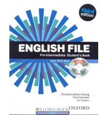 English File 3rd Edition Pre-Intermediate: Student's Book with iTutor DVD