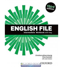 English File 3rd Edition Intermediate: Workbook with Key