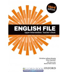 English File 3rd Edition Upper-Intermediate: Teacher's Book with Test & Assessment CD-ROM