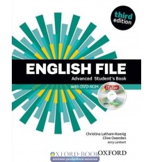 English File 3rd Edition Advanced Student's Book with iTutor DVD