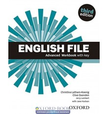 English File 3rd Edition Advanced Workbook with Key with iChecker CD-ROM