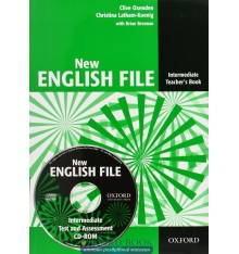 New English File Intermediate: Teacher's Book with Test and Assessment CD-ROM