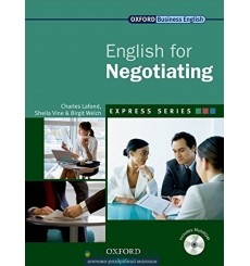 English for Negotiating: Student's Book with MultiROM