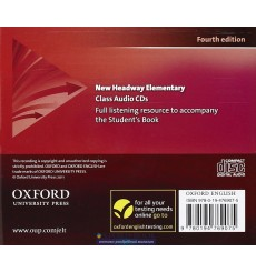 New Headway Elementary: Class Audio CDs (3)