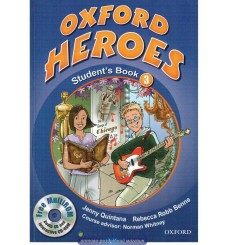 Oxford Heroes 3: Student's Book with MultiROM