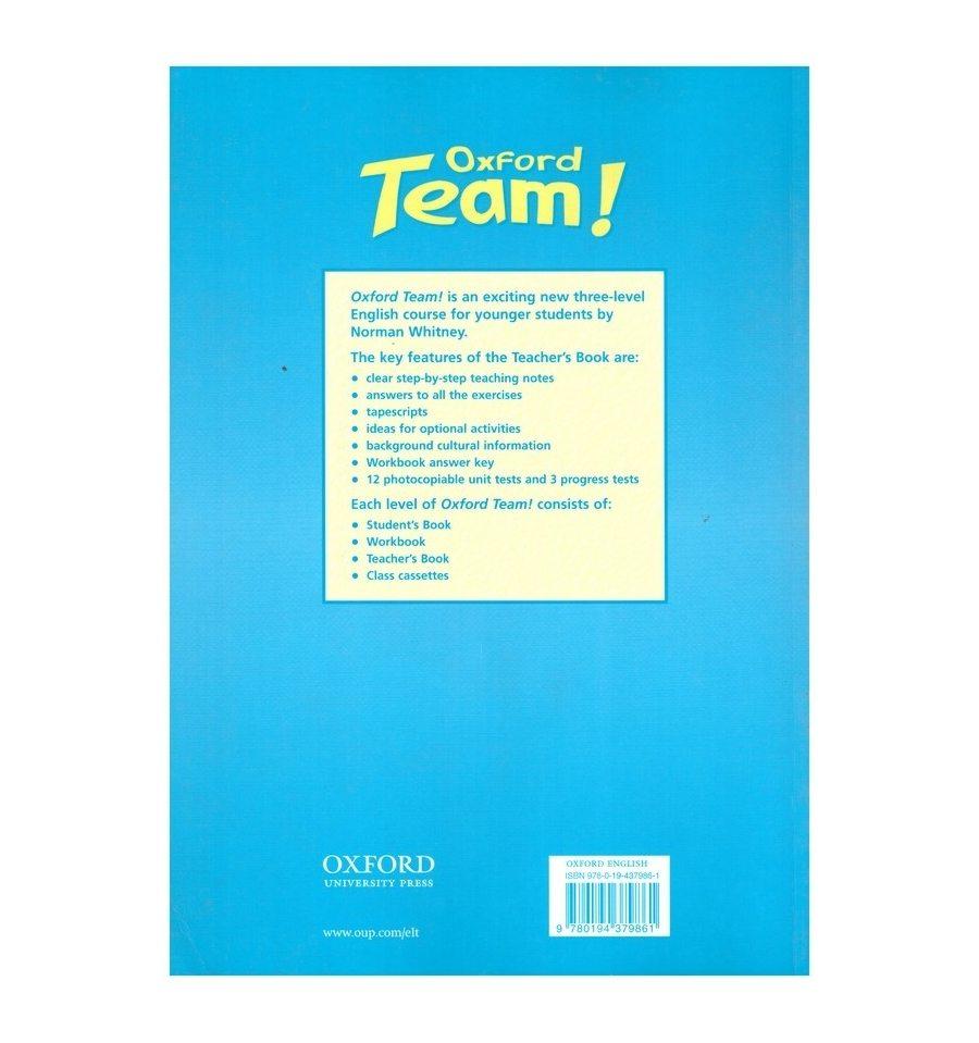 Oxford team 1-й уровень учебник английского языка