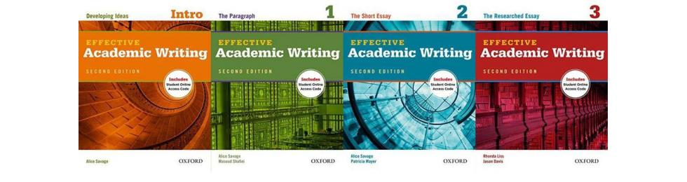 Effective Academic Writing 2nd Edition