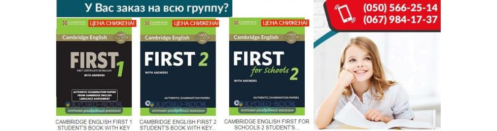 Cambridge English First Authentic Examination Papers